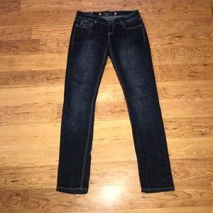 💝RAMPAGE size 5 dark wash Denim skinny jeans